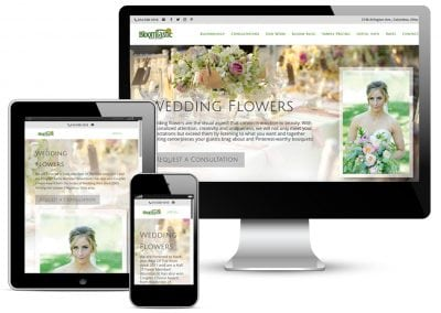 Bloomtastic Weddings Website