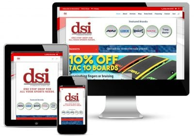 D'Versified Sports Inc. Website