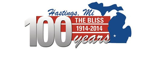 The Bliss 100 Years Logo