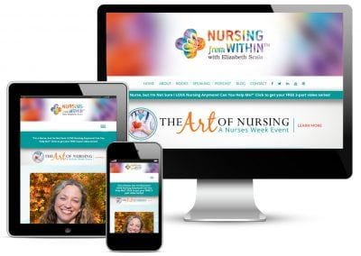 Nursing from Within with Elizabeth Scala Web Redesign