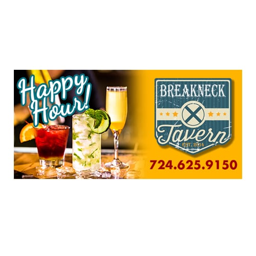Breakneck Tavern Digital Billboards