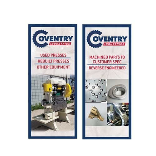Banners for Coventry Industries