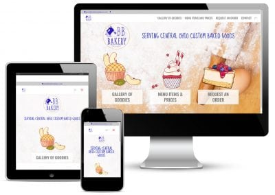 BB Bakery Website Design