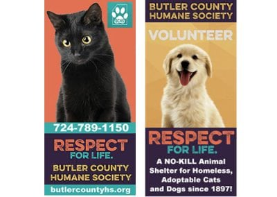 Butler County Humane Society Billboards