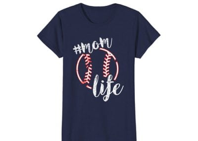 Baseball Mom Life T-shirts