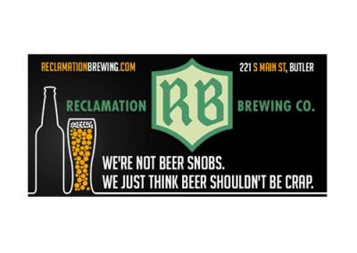 Reclamation Brewery Digital Billboards