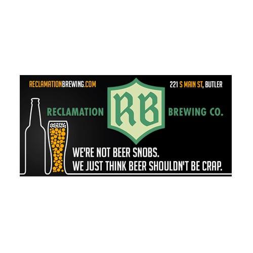Reclamation Brewery Digital Billboards
