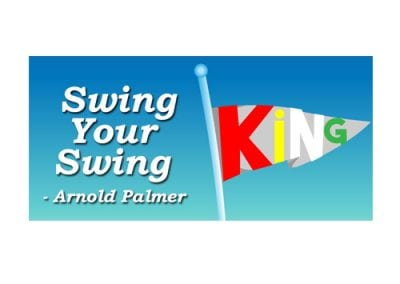 Arnold Palmer Tribute Billboard Design