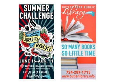 Butler County Public Library Billboard Design