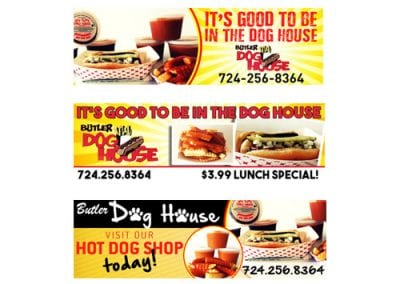 Butler Dog House Billboard Design