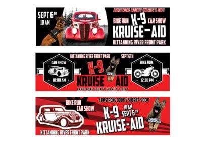 K-9 Kruise Aid Billboard Design