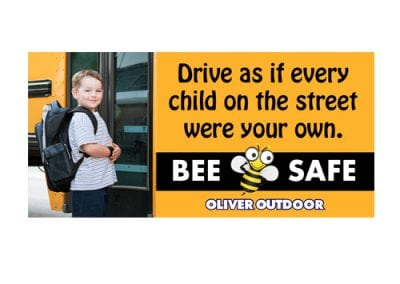 School Bus Safety Billboard Design