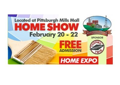 Alle Kiski Home Show Billboard Design