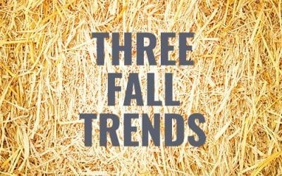 2019 FALL TRENDS