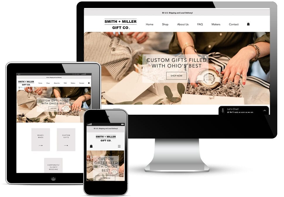 Smith + Miller Gift Co. Website Redesign